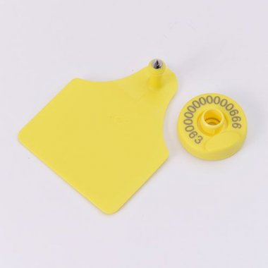 FDX-B Reusable Ear Tag with Visual Pad